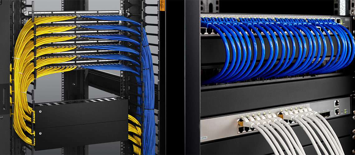 Optimize rack space and shorten installation time