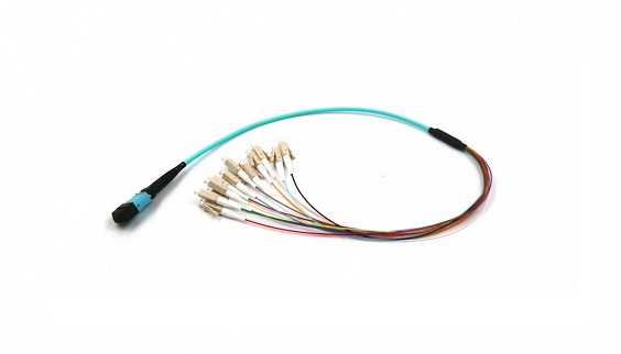 12F MPO/MTP to LC OM3 Fiber Optic Harness Cable